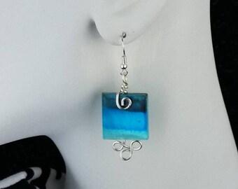 Shades of Blue Earrings