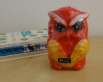 Vintage Owl Candle New in Wrapper