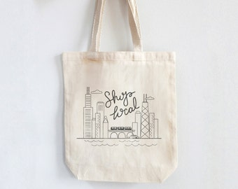 Shop Local - Chicago Tote Bags