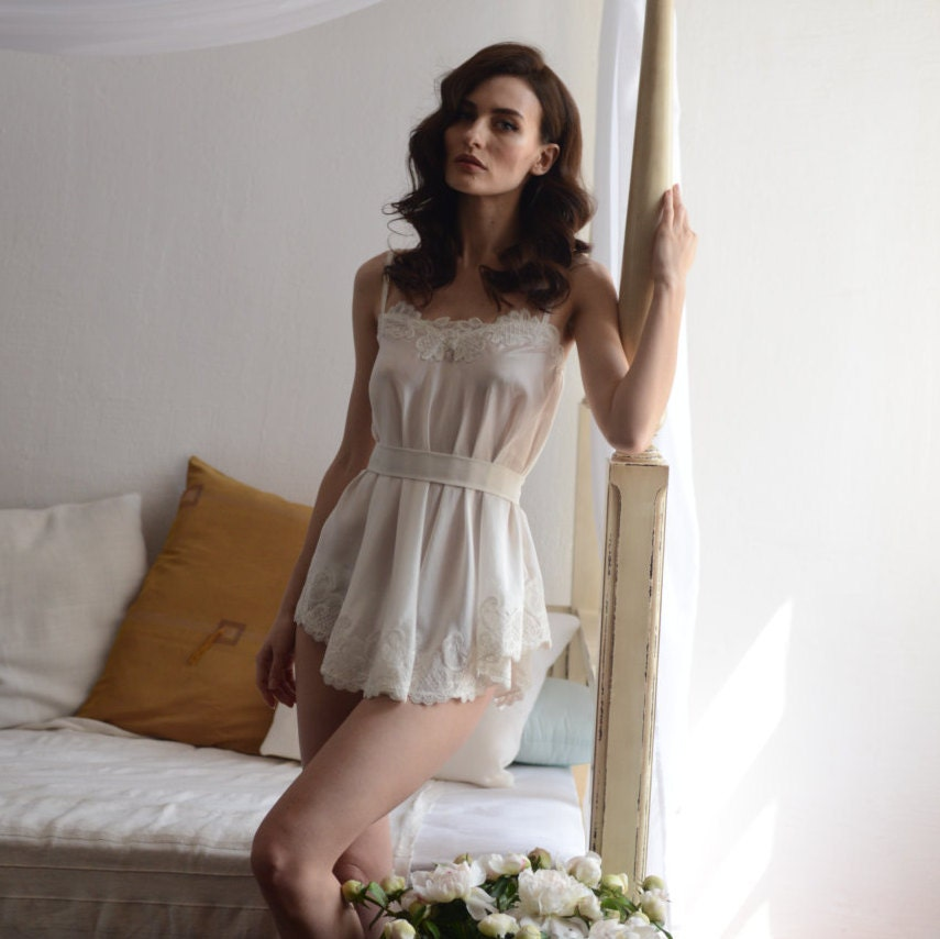 Bridal Camisole With L...
