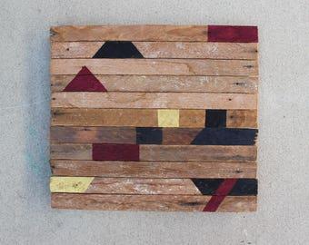 Reclaimed Wood Wall Art / Reclaimed Wood Art / Barnwood Decor / Rustic Decor / Farmhouse Decor / Rustic Wall Art /