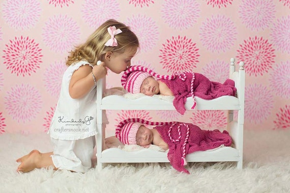 Mom to be gift for baby shower gift for twins photography props newborn photo props baby doll bed posing beds diy baby beds