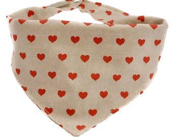RED HEART BANDANA