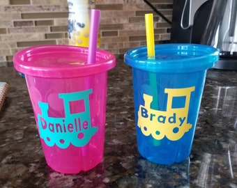 Personalized + custom child cup