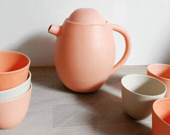 Satin espresso cups