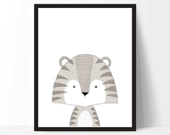 Animal Print, Nursery Art, Nursery Printable, Nursery Print, Kids Print, Childrens Art, Animal Printable, Nursery Animal Art, Nursery Poster