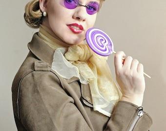 Purple Sunglasses ,  Mens Sunglasses , Retro Sunglasses , Round Sunglasses , Sunglasses , Travel Accessories , Travel , Purple Glasses