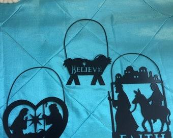 Nativity Ornaments