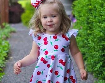 Cherry Peplum