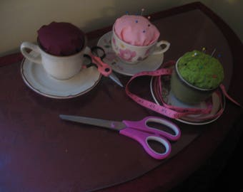 Tea-Cup PinCushion