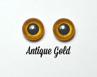 Eyechips 13 mm - Coloris Antique Gold Taille Pullip Modèles Récents