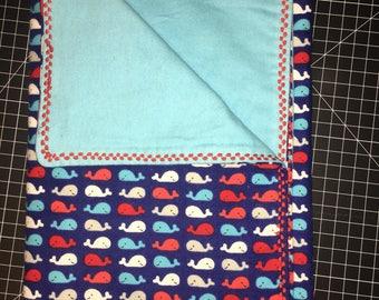 Little Whale Blanket
