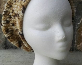 Hand-Crocheted Slouchy Hat: Coffeehouse Style