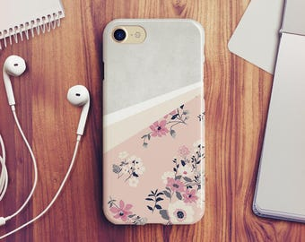 Geometric Floral iPhone 7 Case Floral iPhone 8 Case Floral iPhone X Case Floral iPhone 6s Case Floral iPhone SE Case iPhone 8 Plus Case A04