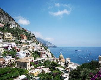 Italy Photo, Amalfi Coast, Italian Photography, Beach Photo
