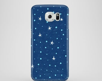Stars phone case / pattern phone case / Samsung Galaxy S7, Samsung Galaxy S6, Samsung Galaxy S6 Edge, Samsung Galaxy S5 / constellation case