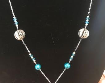 Pretty Blues - Necklace Earrings