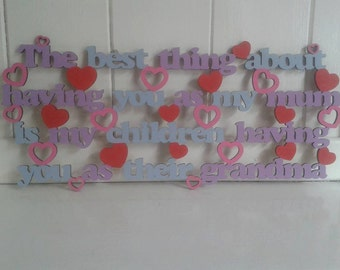 a4 Laser Cut Signs, Made to Order