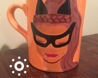 Eartha as Catwoman Mug