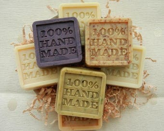 100% Hand Made Flexible Silicon Silicone Soap Molds Candle Making Mold