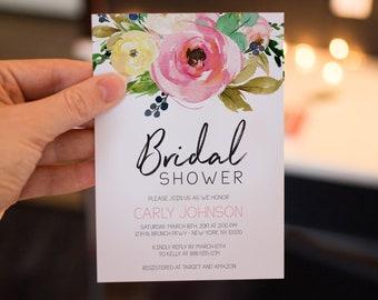 Spring bridal shower etsy filmwisefo