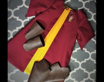 Doll Quidditch Robe Set, Harry Potter toy gift