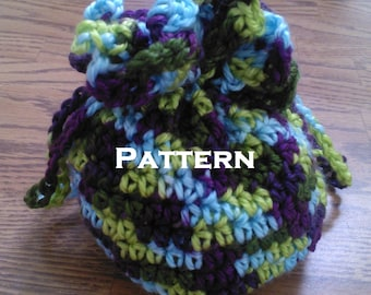 Small Drawstring Pouch Pattern - With Permission to Sell