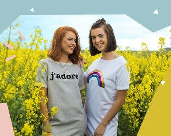 Organic J'adore T-Shirt Dress