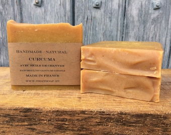 Turmeric Soap, Clove, Orange and Patchouli Soap, Handmade soap, Natural Soap, Handcrafted Soap,Vegan Soap, That Soap, Essential oil Soap,