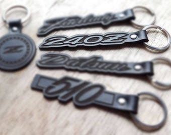 240Z Handmade Leather Keyring