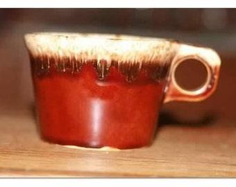 """Vintage Hull 2 3/4"""" Teacup"""