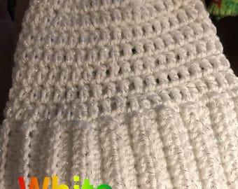 Messy bun /ponytail hat