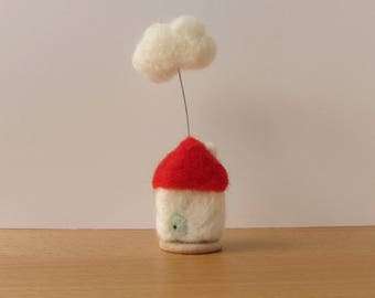 Cloud Cottage in Red