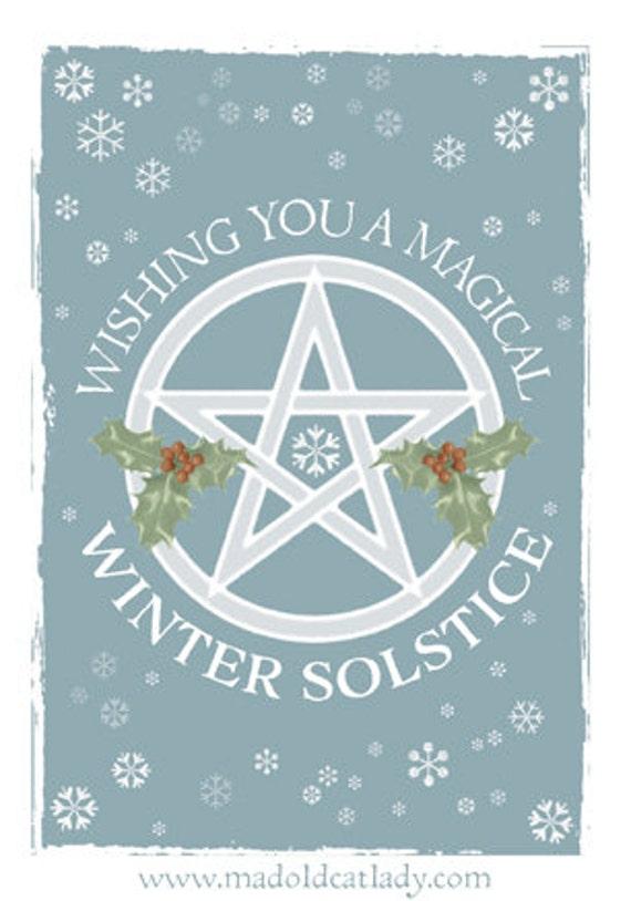Winter solstice greetings card m4hsunfo