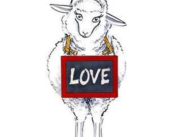 "The Pink Oxford: ""Love Ewe"""
