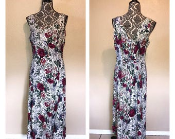 90s Sundress | 90s Floral Dress | Vintage 90s Sundress