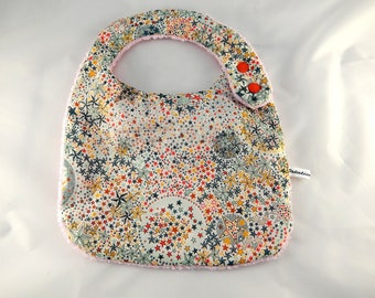 Star pattern child baby bib