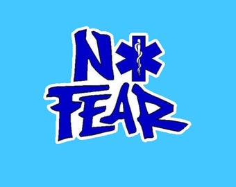 EMS No Fear Decal Sticker