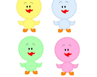 Duckling clipart/Cute baby duckling PNG