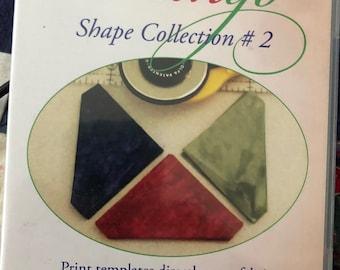 Inklingo Shape Collection #2 CD digital template