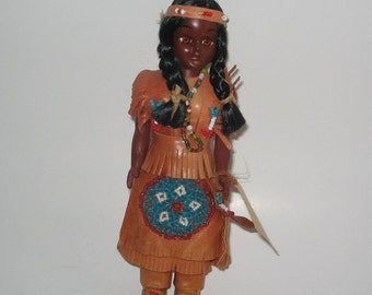 Carlson Doll, Native American Indian Doll, Native American Doll, Osage Exclusive  Princess  Carlson Doll, 20-g2a Native American Doll,