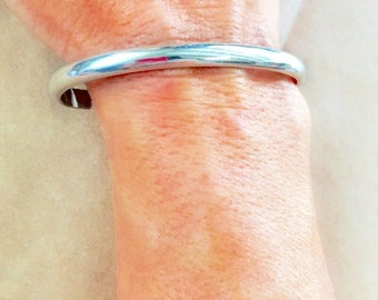 Mens bracelet, mens sterling silver bracelet, mens jewelry, silver cuff bracelet, mens Father's day gift, men's sterling silver bracelet,men