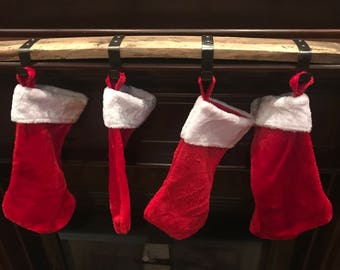 Bourbon Barrel Stave Stocking Holder
