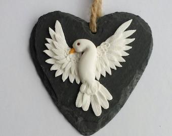 Dove, Peace, Dove decor, dove art, peace on earth, dove wall plaque, dove wall decor, dove of peace, dove wall hanging, dove sculpture