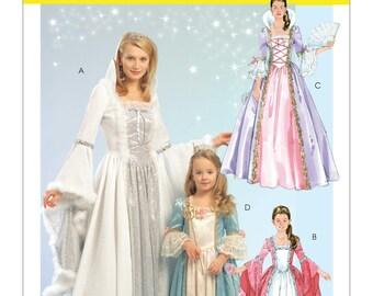 McCalls M5731 Misses'/Children's/Girls' Princess, Fairy Godmother Costumes