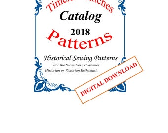 Timeless Stitches Patterns Catalog Digital Download