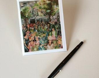 2015 - Keeneland Design, Greeting Card