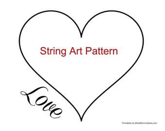 string art template etsy. Black Bedroom Furniture Sets. Home Design Ideas