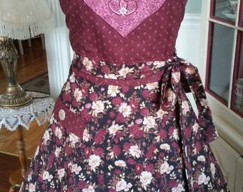 Queen of my Heart Apron! Feminine and Beautiful!