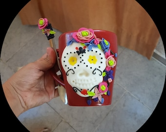 Cup and Skull Spoon